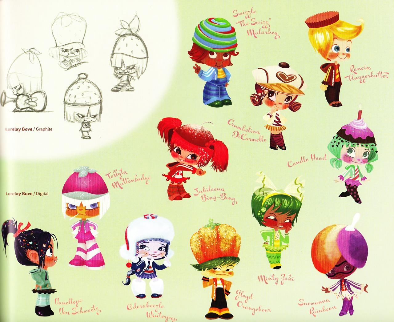 Wreck-It Ralph Sugar Rush Characters
