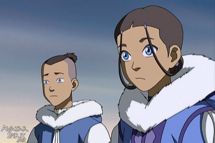 Message removed Avatar the last airbender katara and sokka with