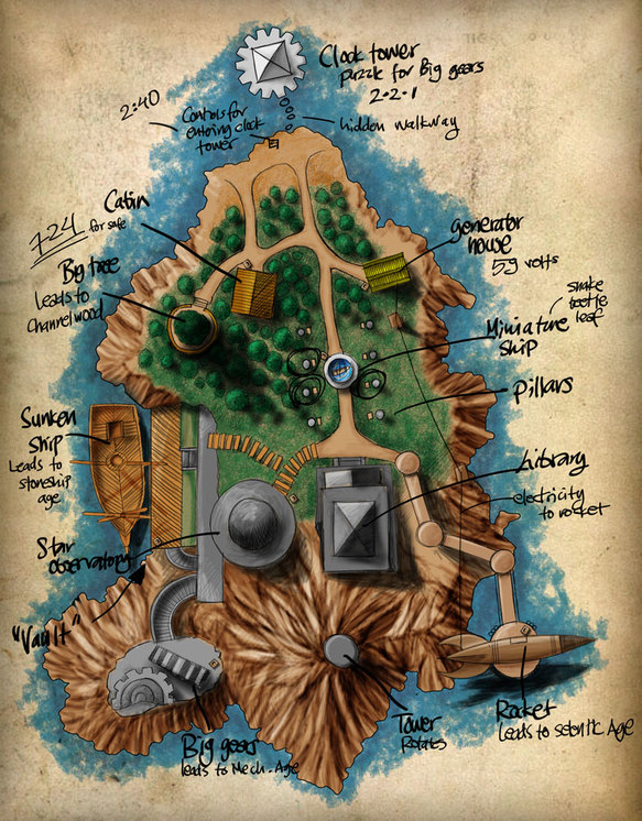 A Map of Myst