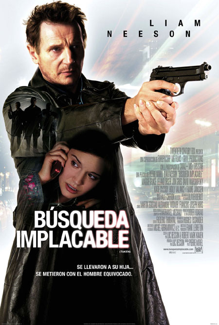 Búsqueda Implacable [DVD]