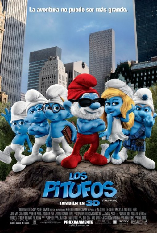 Los pitufos: The Smurfs (2011)