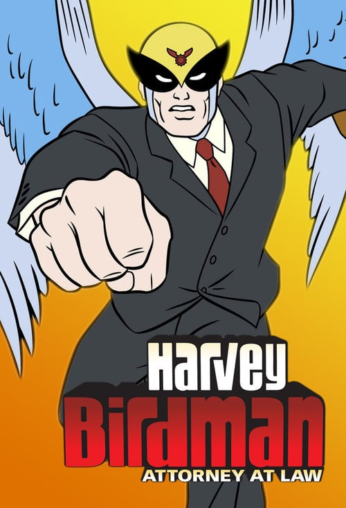Mi serie Harvey Birdman Abogado video HD.