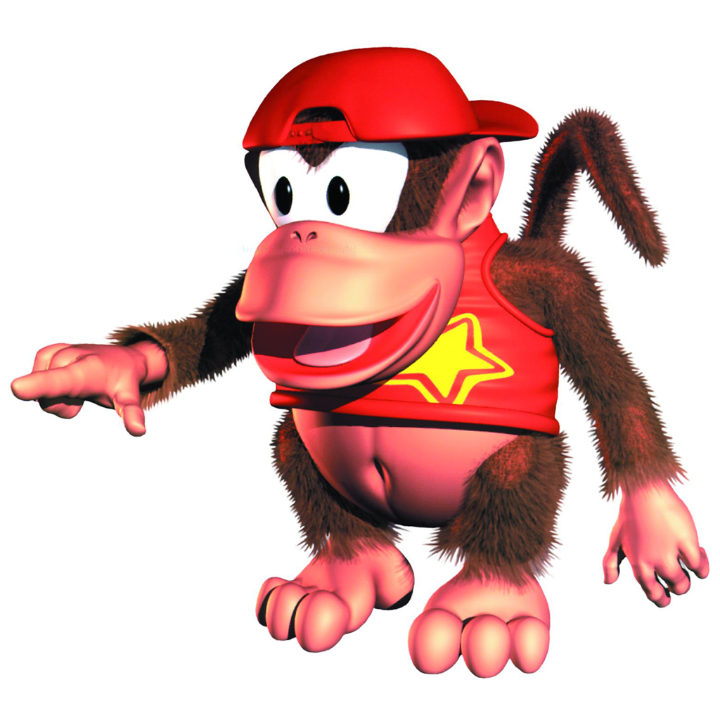 It's just a graphic of Geeky Donkey Kong Picture