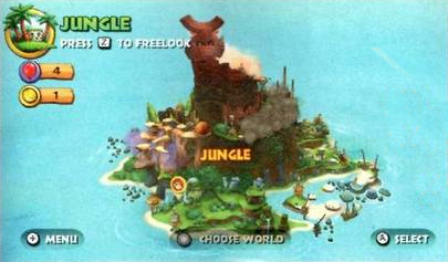 Image - DKCR World Map.png - Donkey Kong Wiki, the ...