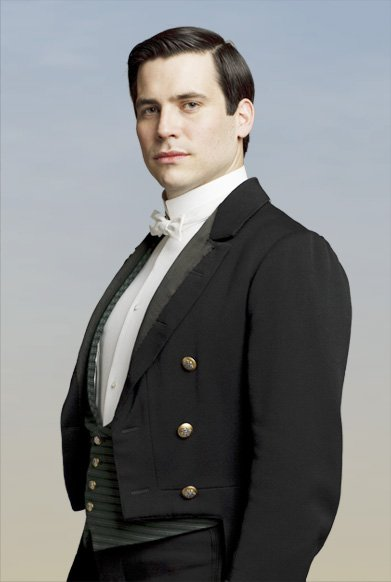 If you're familiar with Downton Abbey - I basically played this guy