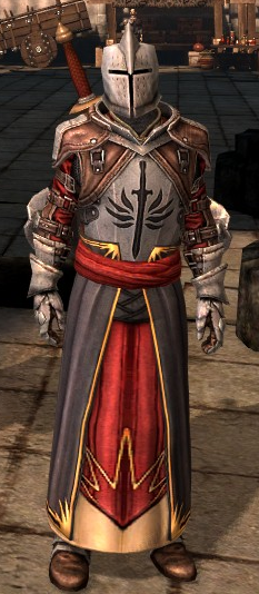 Dragon Age Knight Commander Set. Templar Armor (Dragon Age II)