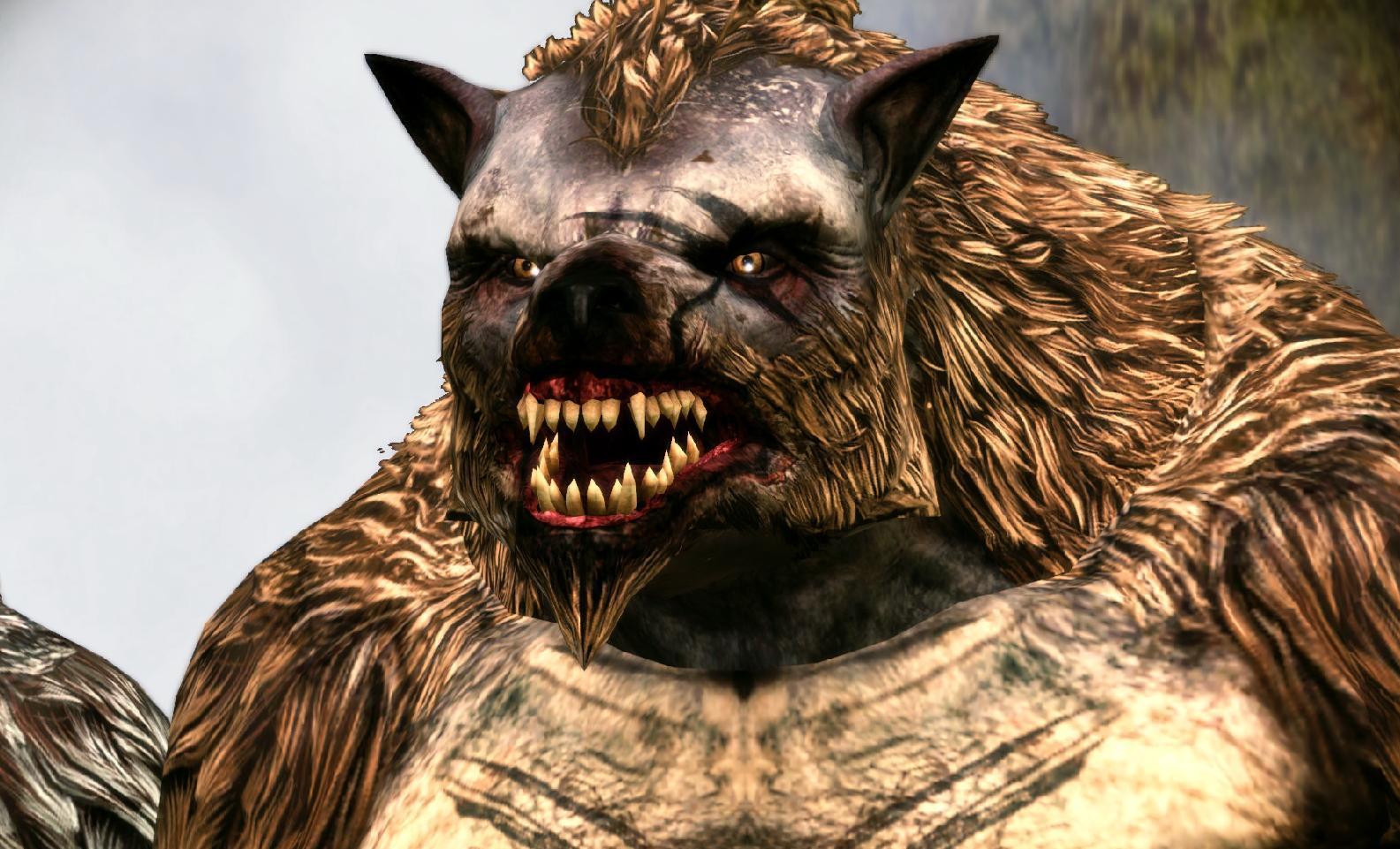Nice werewolf - photo#45