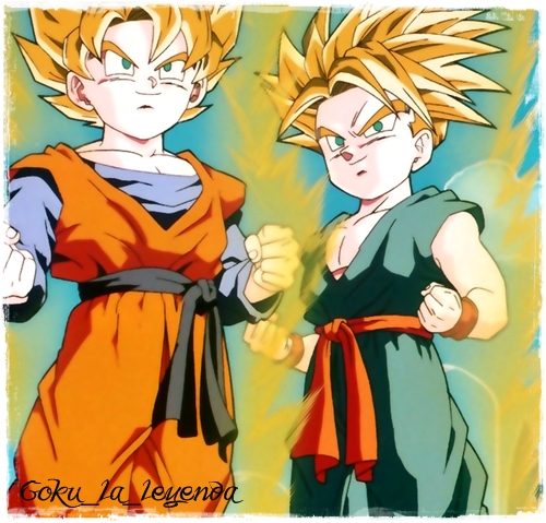Image   Goten Y Trunks Super Sayan     Dragon Ball Wiki