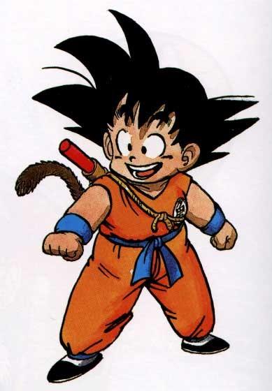 goku, el personaje que nunca olvidaremos, lo compruebo