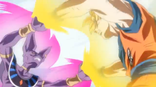 Goku SSJ vs Bills png      640   215  359 p  237 xeles  tama  241 o de archivo    Bills Vs Goku Gif
