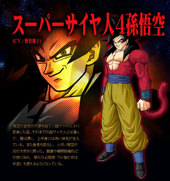 Goku SSJ4 VS Gohan Saikyo No Senshi Goku_ss4