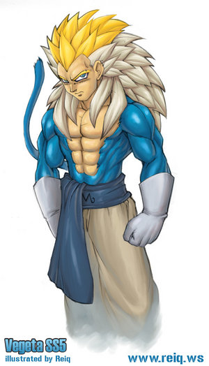 dragon ball z af vegeta