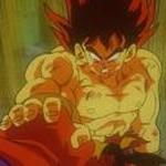 Entrenamiento de Trunks GSSJ_Goku