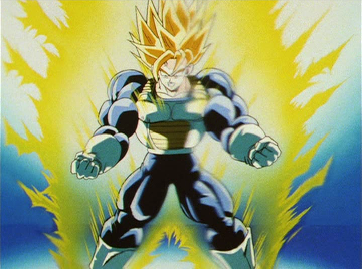 dragon ball z super saiyan trunks. Ultra Super Saiyan - Dragon