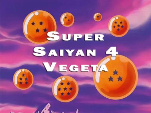 Vegeta Super Saiyan 12. Super Saiyan 4 Vegeta