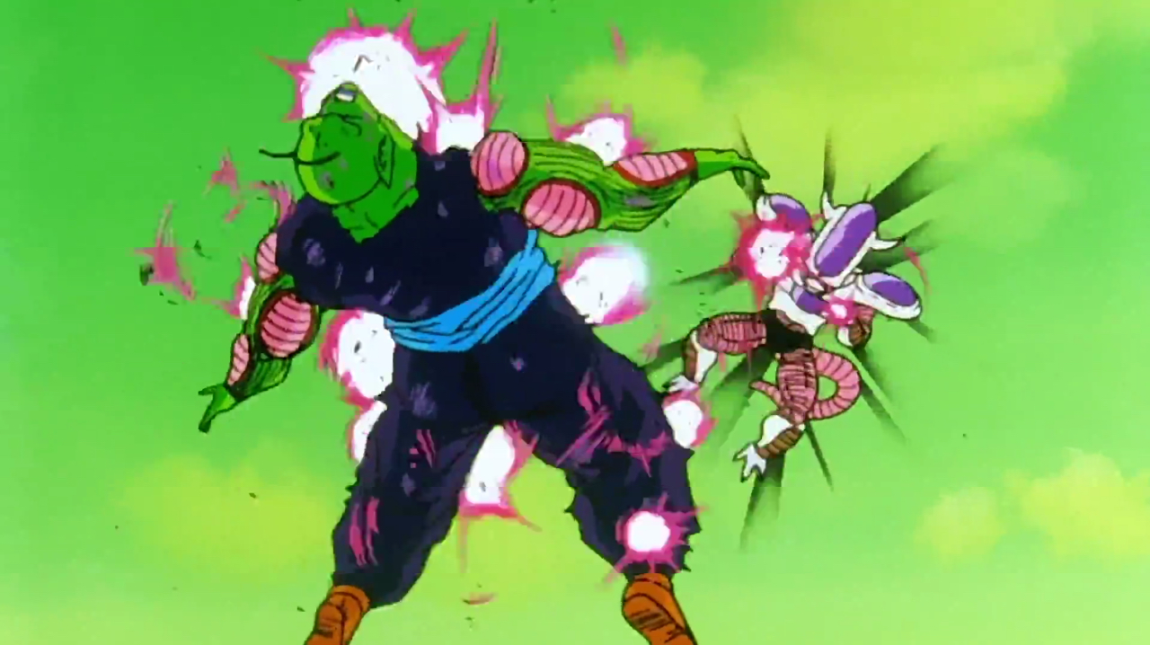 Top 5 villains in dragon ball z part 2 war with words for Freezer piccolo