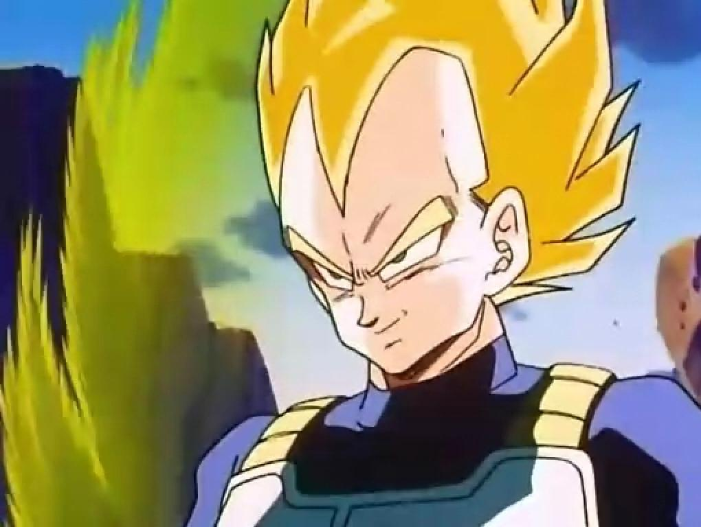 Image   Super Saiyan Vegeta Ready To Fight With Androids 20343 JPG