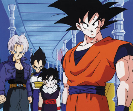 Everyone is happy to see Goku