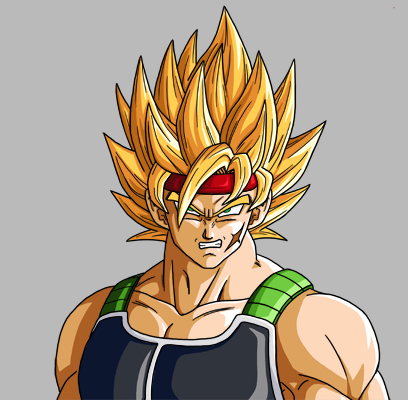 Super Saiyan Level 2. SUPER SAIYAN BARDOCK!