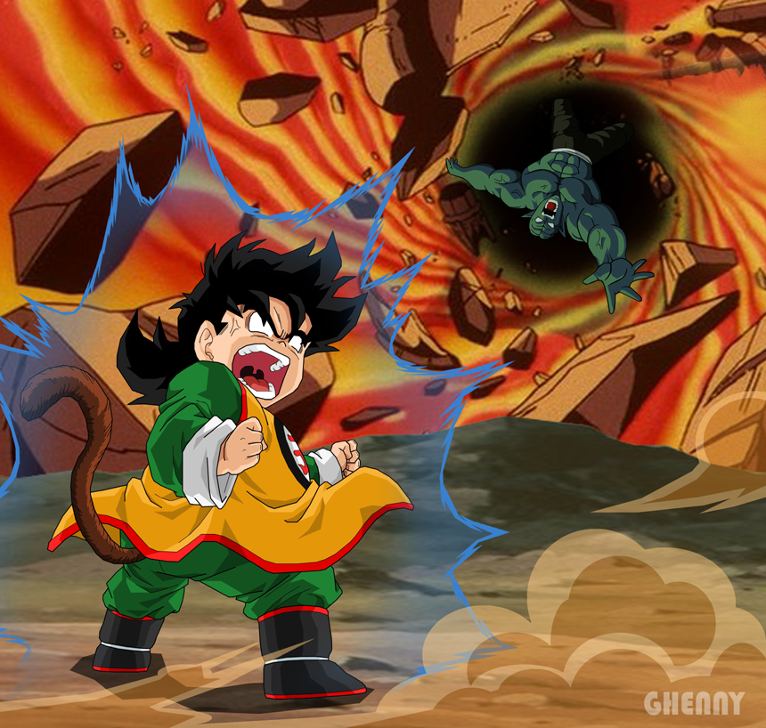 Image - Dragon ball z movie 1 by ghenny-d48i3z7.jpg - Dragon Ball Wiki