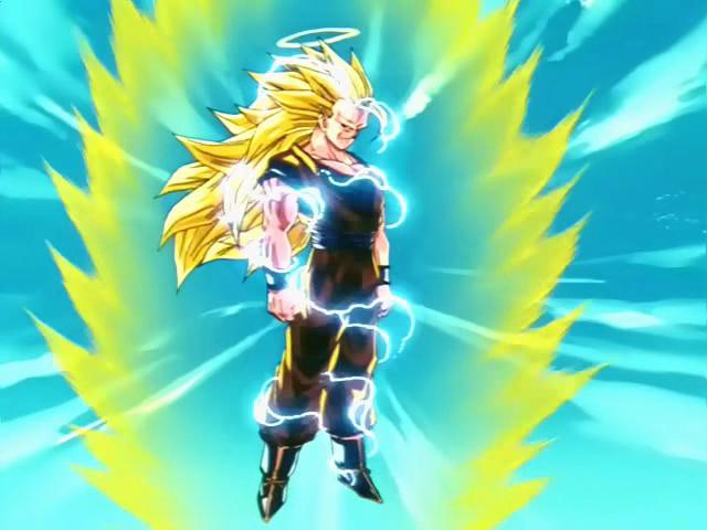 goku super saiyan 6 transformation