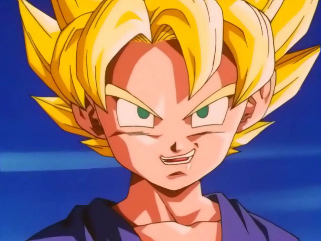 Dragon Ball Kid Goku Super Saiyan. Kid Goten is very active on