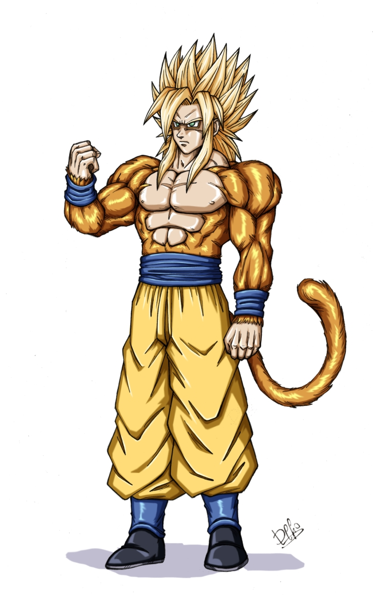 Image   Goku Super Saiyan 5 By Wegons     Dragon Ball Wiki