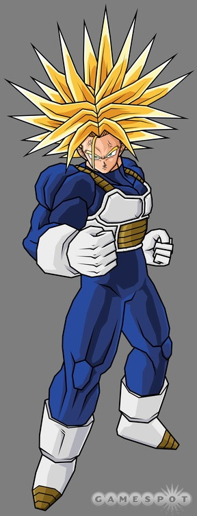 image ultra super saiyan future trunks budokai tenkaichi
