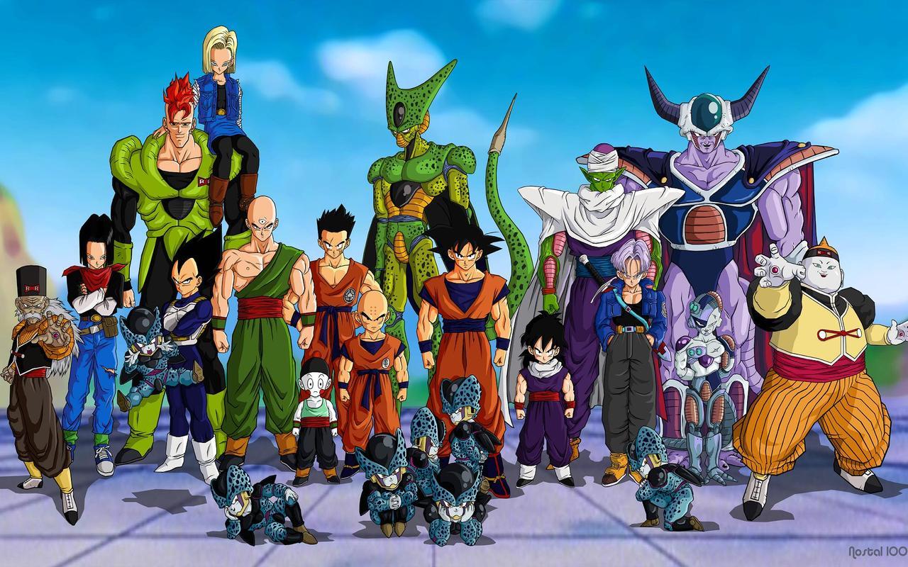 Image - DBZ Android Saga.jpg - Dragon Ball Wiki