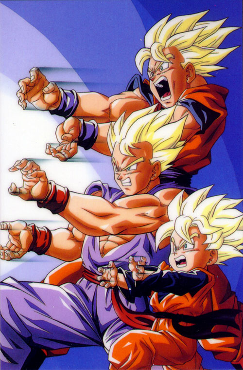 dragon ball z goku super saiyan 2. Dragon Ball Z Kai, Super