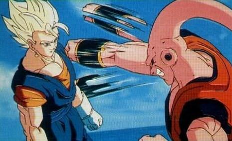 Image - Super Vegito dodging Gohan absorbed Super Buu.png ...