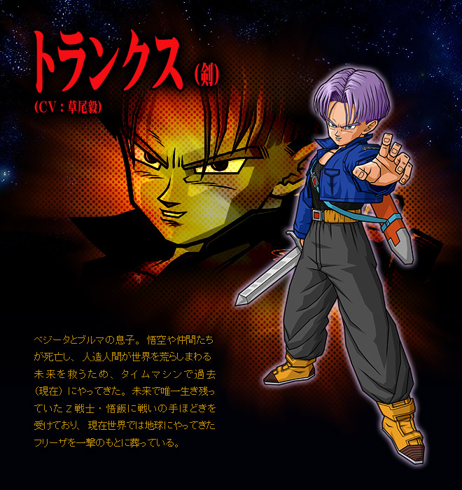 User:The Black Trunks - Dragon Ball Wiki