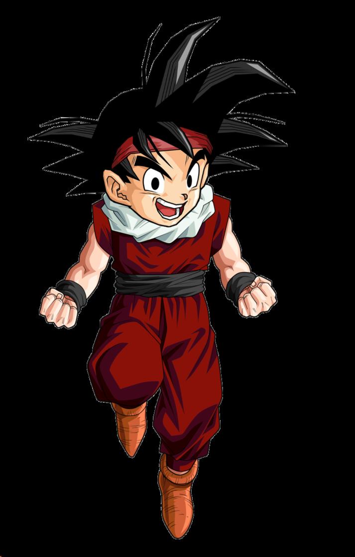 Le héros est de retour parmi-vous tous ! Kid_goku_jr_jr_by_blackpiroflame-d3ecior
