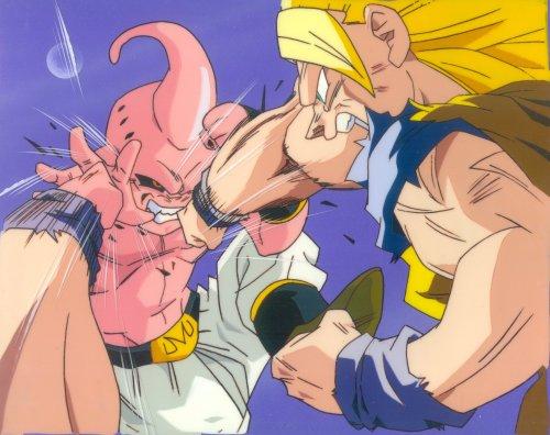Super Saiyan Buu. Goku Super Saiyan 3 vs Kid Buu