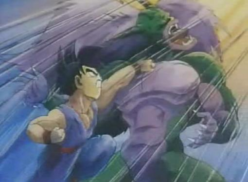 super saiyan gohan images. Super 8: High Power Punch