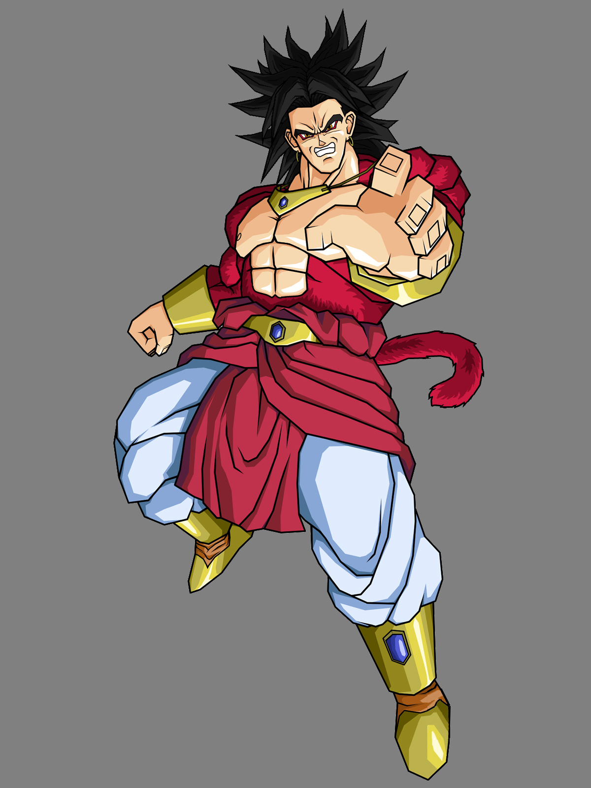 Imagen broly dragon ball fanon wiki - Broly dragon ball gt ...