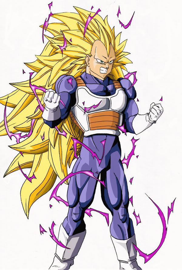 dragon ball z super saiyan trunks. dragon ball z vegeta super