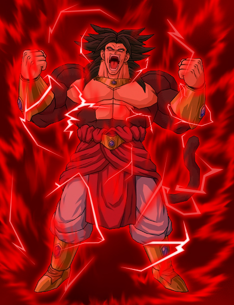 broly super saiyan forms. remaining fighters looks