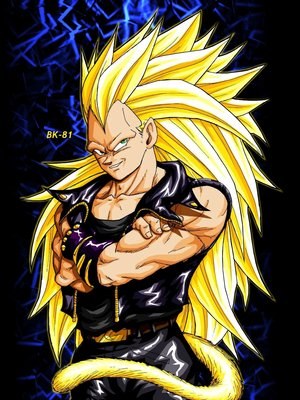 dragon ball af goku ssj9. Dragon Ball Z Super Saiyan 4 Vegeta supreme power DBZ. Description