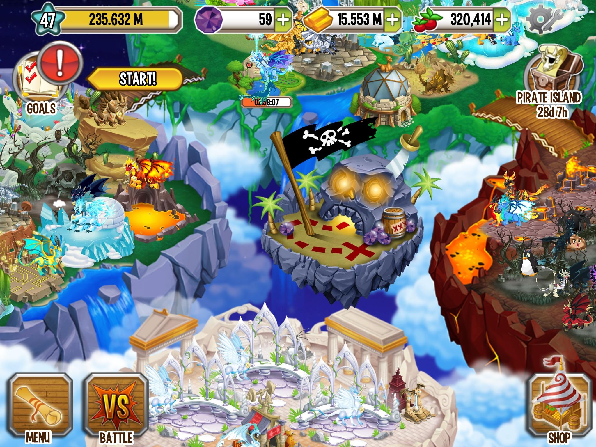 Image - My dragon city farm.jpg - Dragon City Wiki