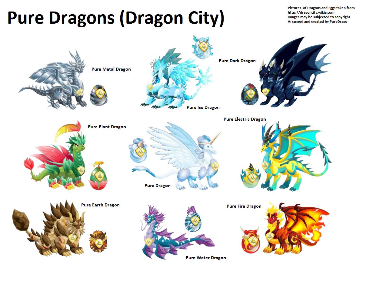 Easxicel Infinitys Pure Dragons Edit Copyright     Dragon City Wiki