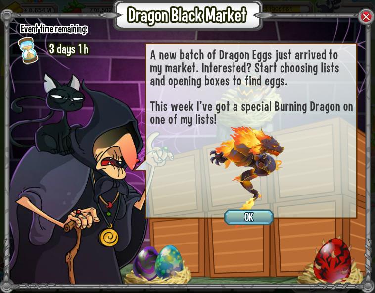 dragones por las 80 gemas o solo a el dragon envuelto en llamas a c