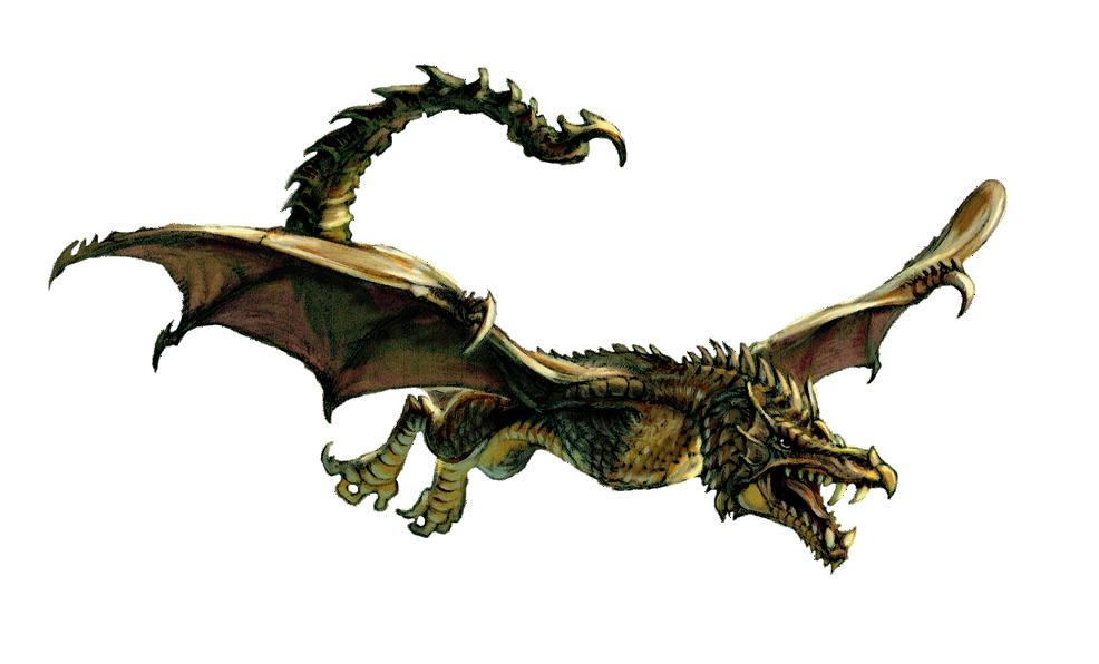 Wyvern Dragon: Wyvern (Dungeons & Dragons) (main).png