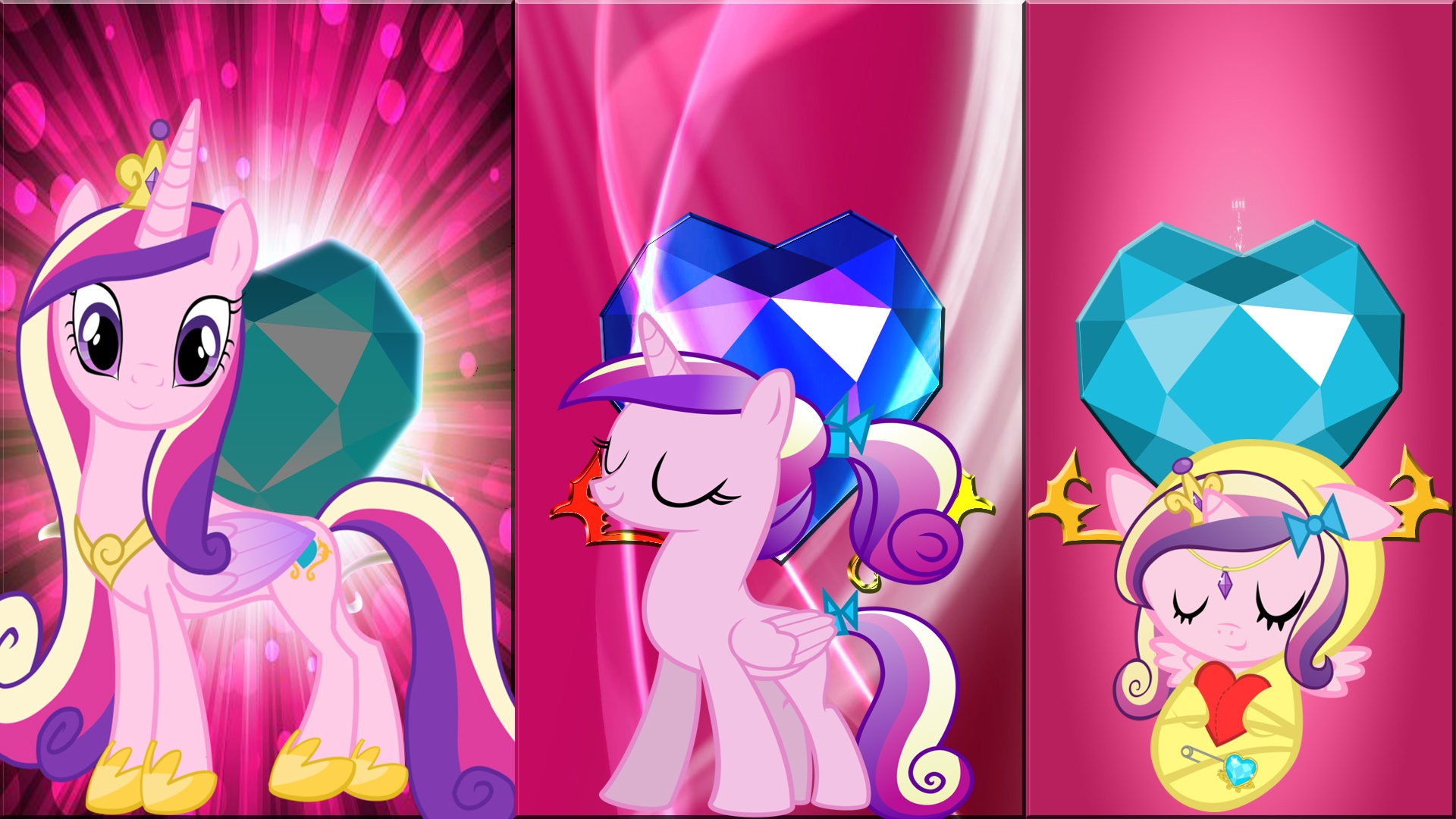 Image - E vector filly princess-cadance wallpaper foal ...