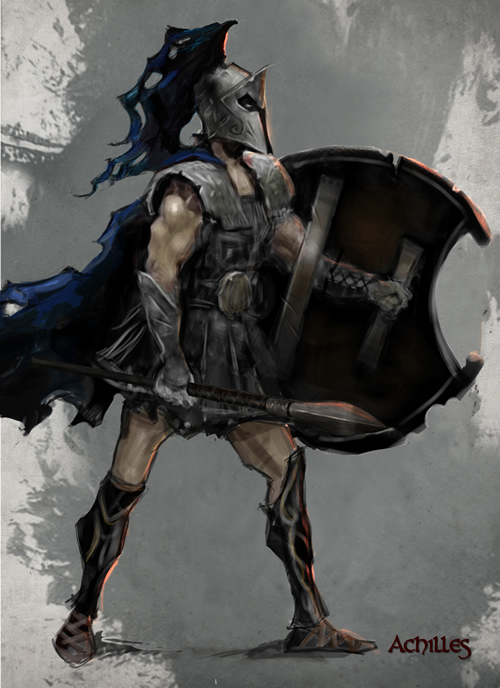 achilles games greek warriors history