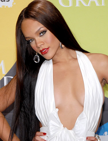 Rihanna. The highest Darkie on the list (mainly because she is only half ...