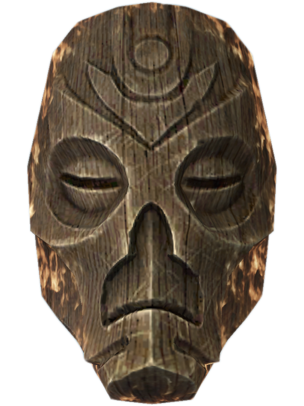 Wooden Mask,