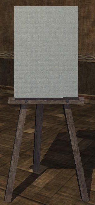 File:A wooden easel with canvas (Visible).jpg