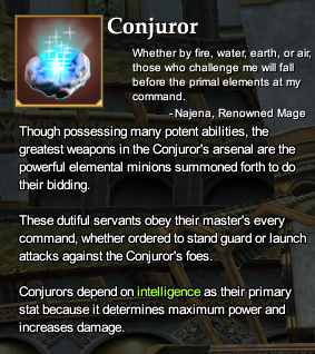 Conjuror - EQ2i, the EverQuest 2 Wiki - Quests, guides, mobs, npcs ...