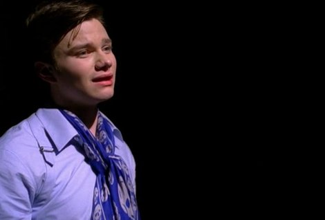 Kurt hummel and alexander mcqueen harness stretch shirt gallery